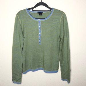 Nordstrom Lauren Hansen 100% Cashmere Sweater Med